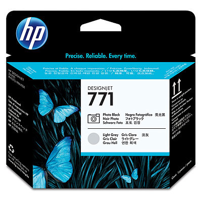 Hewlett-Packard Печатающая головка HP №771 Designjet Photo Black & Light Gray