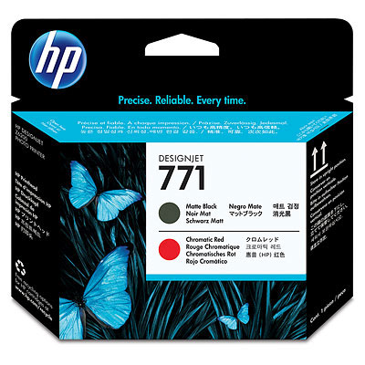 Hewlett-Packard Печатающая головка HP №771 Designjet Matte Black & Chromatic Red